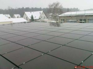 900KW Photovoltaikanlage auf mehreren Gebäuden