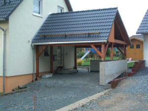 Dacheindeckungen: Carport in Tölpen