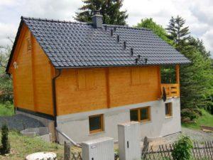 Dacheindeckungen: Tonziegel - Ferienhaus in Pottiga